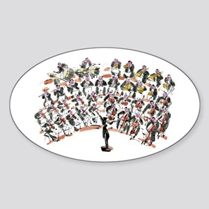 Orchestra Sticker (Oval)