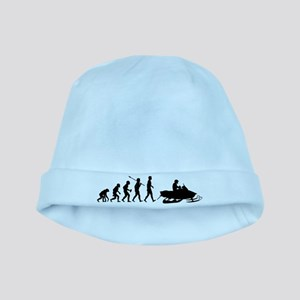 Snowmobile baby hat