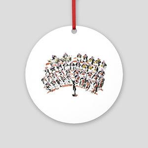 Orchestra Ornament (Round)