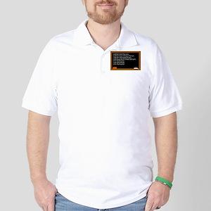 I Am The Teacher Golf Shirt