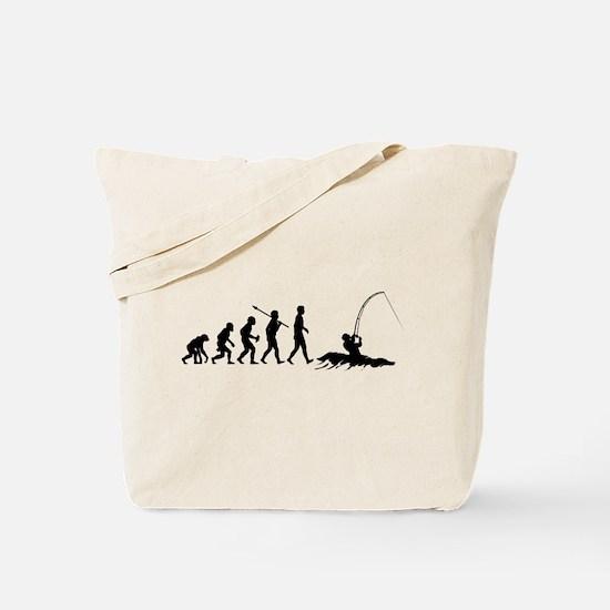 Surf Fishing Tote Bag