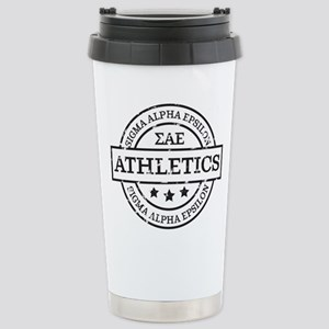 Sigma Alpha Epsil 16 oz Stainless Steel Travel Mug