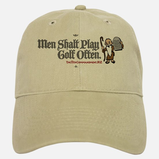 Men Shalt Play Golf Often Baseball Baseball Cap