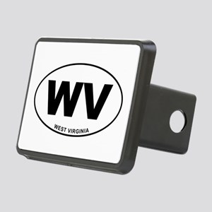 West Virginia State Rectangular Hitch Cover