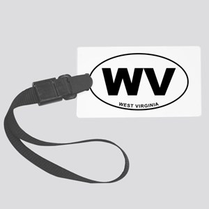 West Virginia State Large Luggage Tag