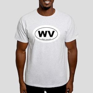 West Virginia State Light T-Shirt