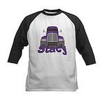 Trucker Stacy Kids Baseball Jersey