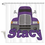 Trucker Stacy Shower Curtain