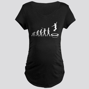 Trampoline Maternity Dark T-Shirt