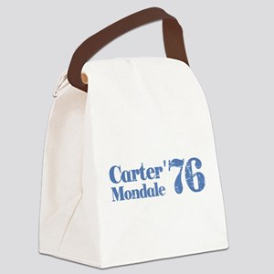 Carter Mondale 76 Canvas Lunch Bag