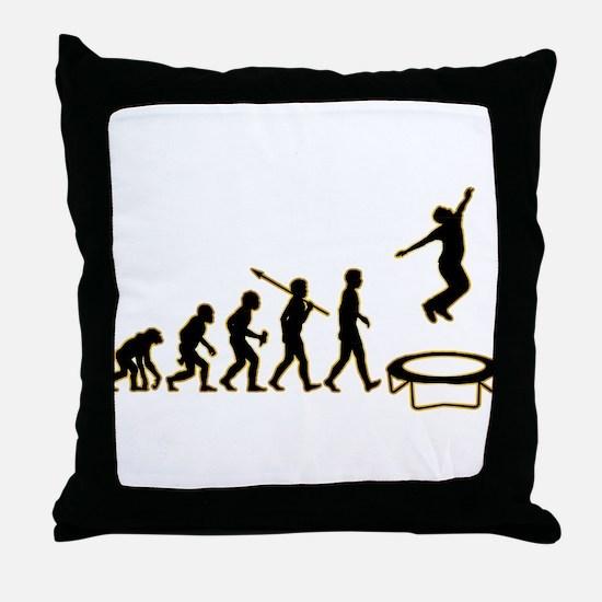 Trampoline Throw Pillow