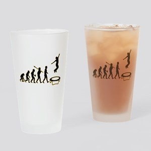 Trampoline Drinking Glass