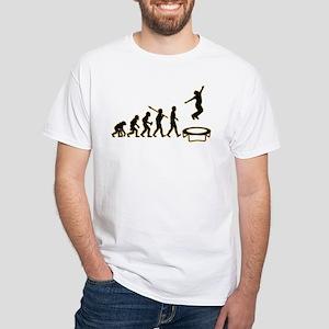 Trampoline White T-Shirt