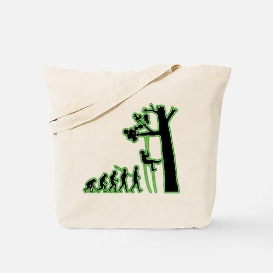 Tree Climbing Tote Bag