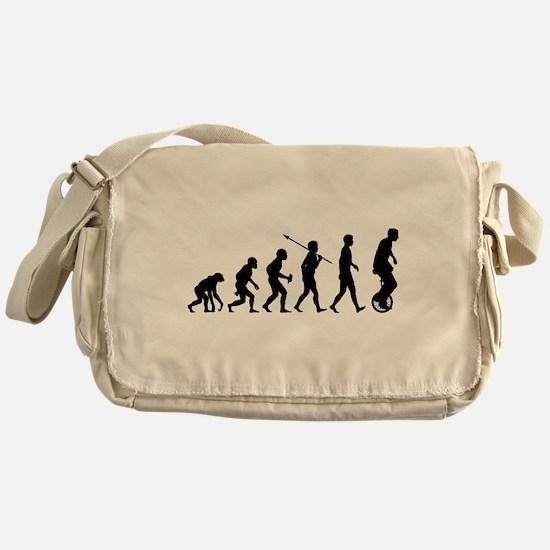 Unicycling Messenger Bag
