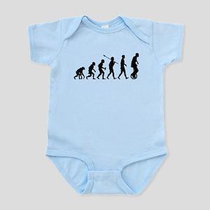 Unicycling Infant Bodysuit