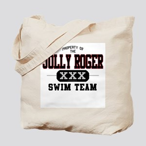 Jolly Roger Swim Team Tote Bag