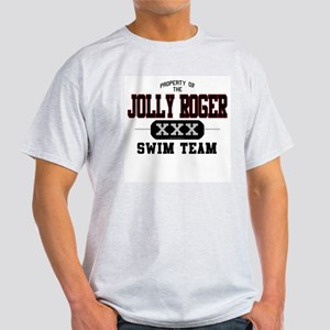 Jolly Roger Swim Team Ash Grey T-Shirt
