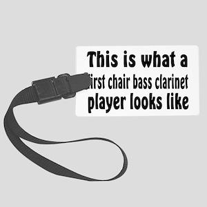 Bass Clarinet Large Luggage Tag