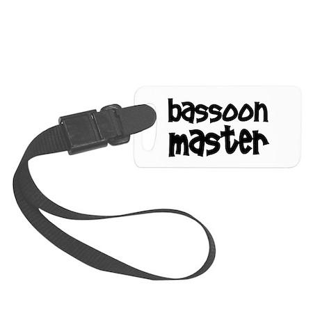 Bassoon Small Luggage Tag