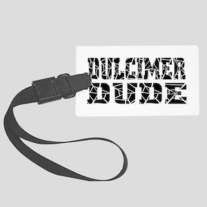 Dulcimer Large Luggage Tag