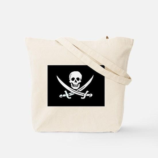 Jolly Roger Beer Pong Team Tote Bag