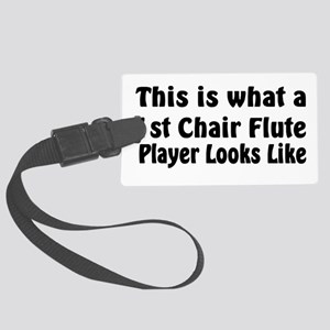 1st Chair Flute Large Luggage Tag