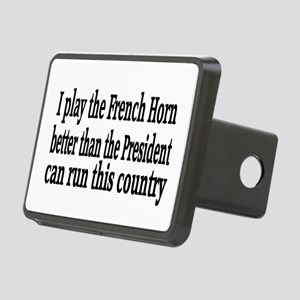 French Horn Rectangular Hitch Cover