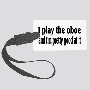 Oboe Large Luggage Tag