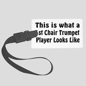 Got Trumpet? Large Luggage Tag