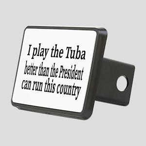 Tuba Rectangular Hitch Cover