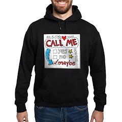 Call Me Hoodie (dark)