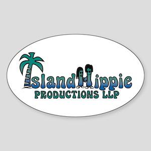 IslandHippie Sticker (Full-Oval)