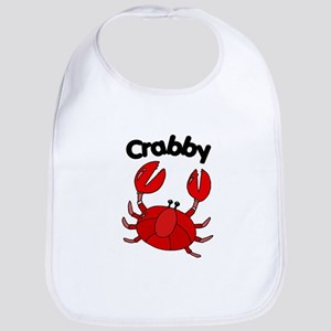 Crabby Funny Baby Bib