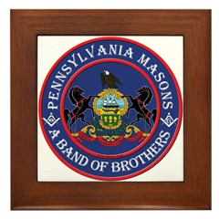 Pennsylvania Brothers Framed Tile