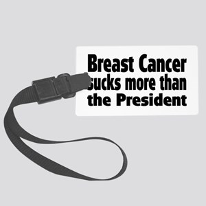 Breast Cancer Large Luggage Tag