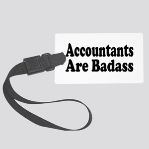 accountant6 Large Luggage Tag