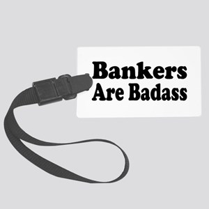 banker5 Large Luggage Tag