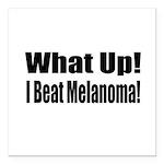melanoma17.png Square Car Magnet 3