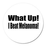 melanoma17.png Round Car Magnet