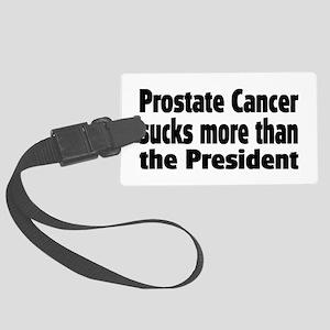 Prostate Cancer Large Luggage Tag