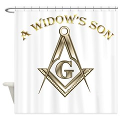 A Widows Son Shower Curtain
