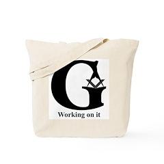The Reversed Masonic G Tote Bag