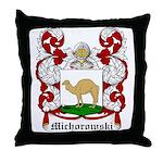 Michorowski Coat of Arms Throw Pillow