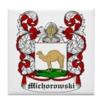 Michorowski Coat of Arms Tile Coaster