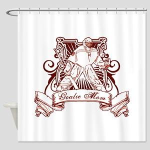 Hockey Goalie Mom Shower Curtain