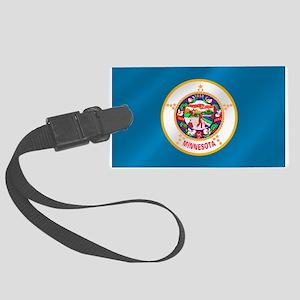 Flag of Minnesota Large Luggage Tag