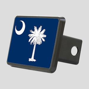 South Carolina Flag Rectangular Hitch Cover