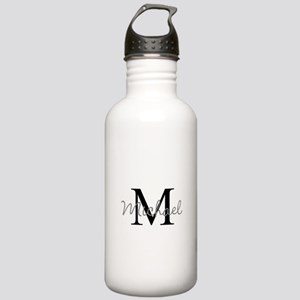 Customize Monogram Ini Stainless Water Bottle 1.0L