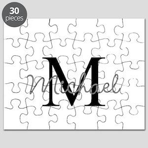Customize Monogram Initials Puzzle
